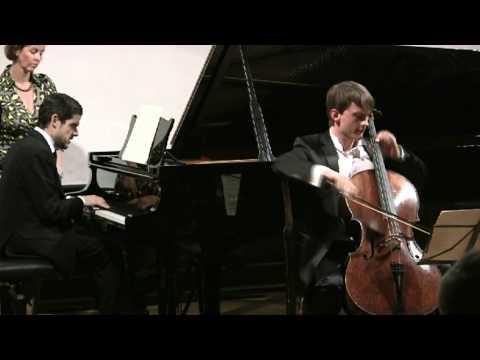 Stücke im Volkston Schumann  (3,4,5) Benedict Kloeckner Cello, José Gallardo Klavier