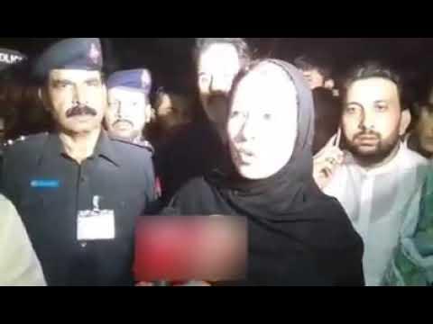 Mandi bahauddin main 6 sala bacha Qatal. Hamida Wahid Ud Din media se baat kerte howi