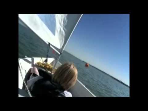 Tom Dudgeon sailing at IOSSC