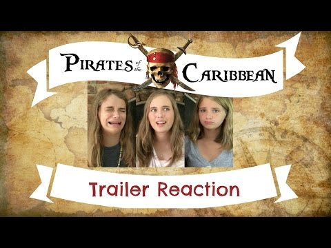 Pirates of the Caribbean 5: Dead Men Tell No Tales Teaser Trailer #1 Reaction