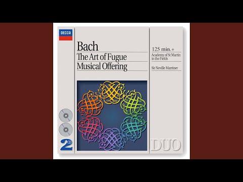 J.S. Bach: Musical Offering, BWV 1079 - Ed. Marriner - Canon perpetuus super Thema Regium