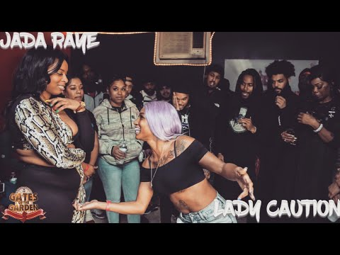 JADA RAYE VS LADY CAUTION | FEMALE RAP BATTLE | GATES OF THE GARDEN
