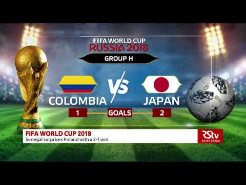 Fifa world cup day 6: match results
