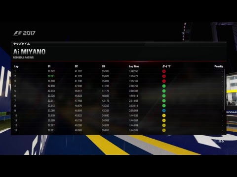 F1_2017 PS4 S07-14-0A シンガポール FP1