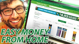 Make $500+/month off Dollar Tree From Home With Online Retail Arbitrage!