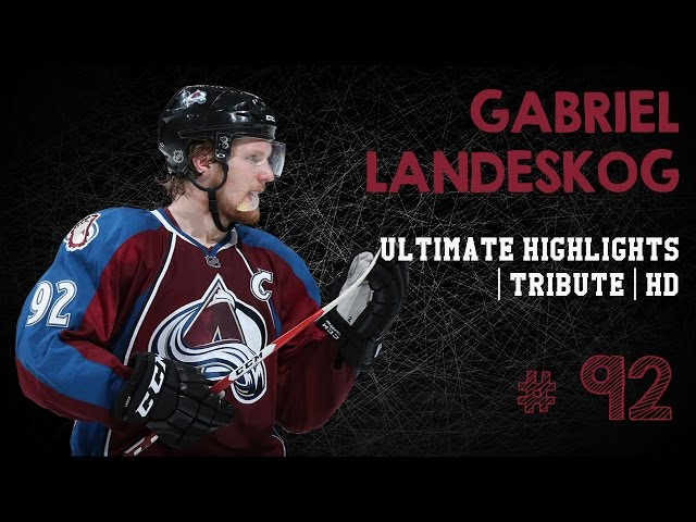 Gabriel Landeskog Ultimate Highlights | Tribute | HD