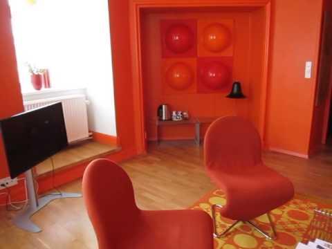 Verner Panton suite at Hotel Alexandra (Copenhagen)