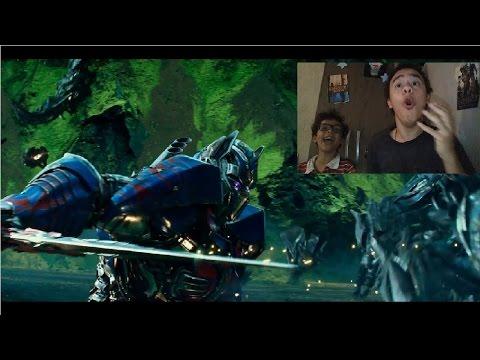 Reação : Trailer 3 - TRANSFORMERS - O ÚLTIMO CAVALEIRO