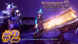 Trine 3 The Artifacts of Power - Gameplay Walkthrough Part 2 - Full Game MAX Settings  [ HD ]