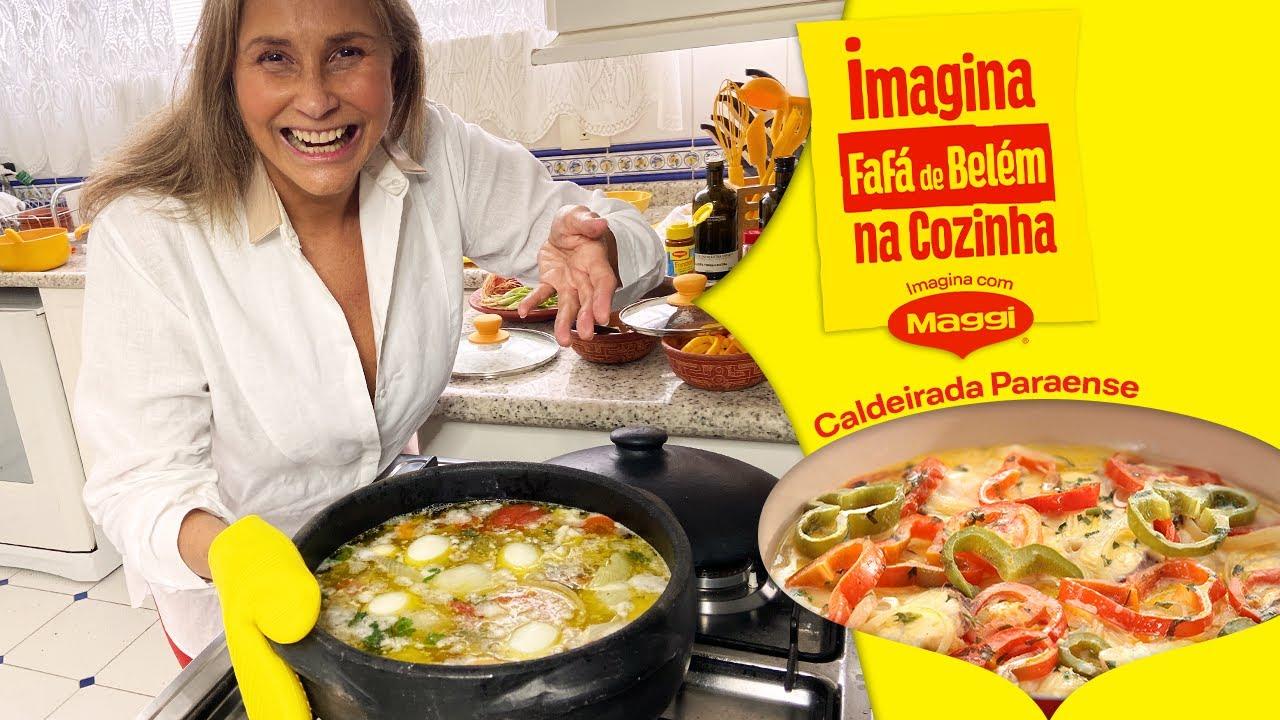 Imagina Fafá de Belém na Cozinha - Receitas Nestlé Em Casa