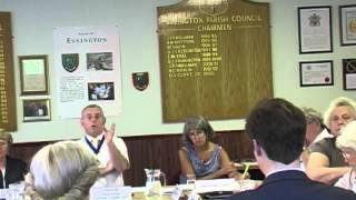 Essington Parish Council Meeting 08/07/2013 dissolved due to filming