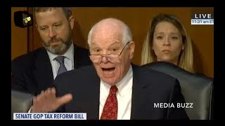 Democrat Senator Loses His Temper And Yells At Republicans Over Tax Bill 11/16/17