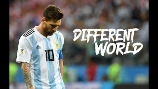 LIONEL MESSI | Alan Walker - Different World | Skills and Goals [HD]
