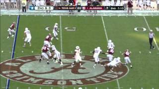Johnny Manziel vs Alabama 2012
