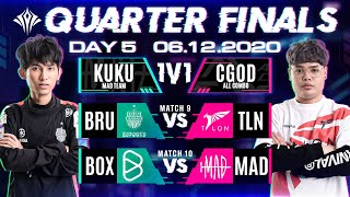 AIC 2020 | Quarter Finals | Week 3 Day 5