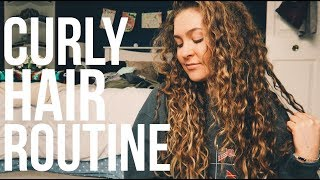 Curly Hair Routine (from a hairstylist)