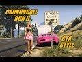 Cannonball Run II GTA Style