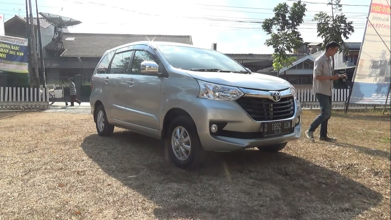 2015 toyota grand new avanza 1.3 g. start up & in depth review