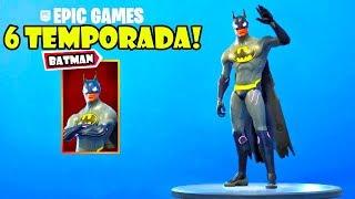 La SKIN de BATMAN en el JUEGO de FORTNITE!!!