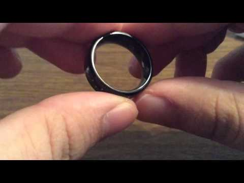 Cavalier Men's Titanium Ring with Gold Carbon Fiber Inlay Review