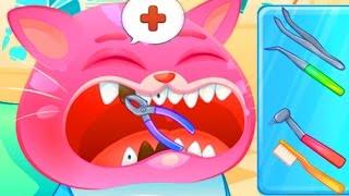 КОТЕНОК БУБУ #4  - КОТИК у Стоматолога - игровой мультик для малышей видео для детей funny games