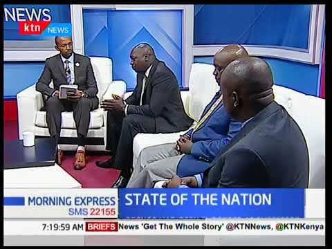 KTN News State of the Nation - [Part 1] - Uproar over the ouster of Moses Wetangula