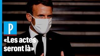 Attentat de Conflans : Emmanuel Macron annonce la dissolution du collectif Cheikh Yassine