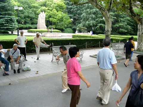 Tai Chi in Fuxing Park - Shanghai