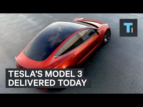 The Tesla Model 3 is finally here