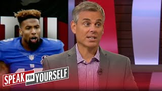 Why Odell Beckham Jr. and Dez Bryant need to change their mindsets | SPEAK FOR YOURSELF