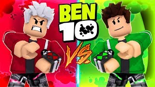 EVIL BEN 10 vs BEN 10 IN ROBLOX! (Ben 10 Arrival Of Aliens)