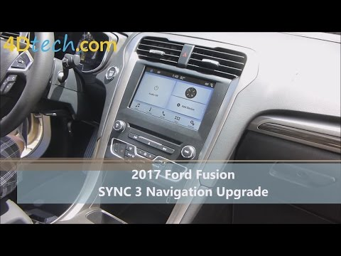 Add Factory Navigation to SYNC 3 | 2017 Ford Fusion