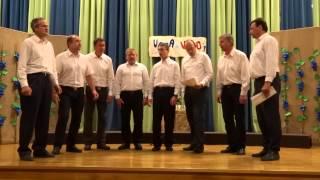 2014 11 15 Voda in vino Podpeški oktet Martinov koncert 023 Majolka bod pozdravljena