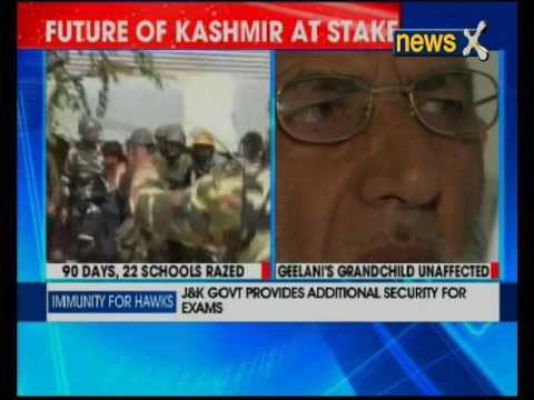 Geelani's grand daughter to appear for exams, J&K governemnt provides additional security