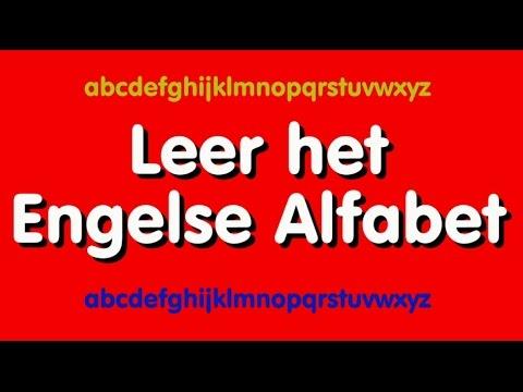 leer het engels alfabet - youtube
