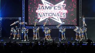 2017 Jamfest Midwest Cheer Elite Diamond Katz L5 Medium Coed Sunday | Isaac Cleveland