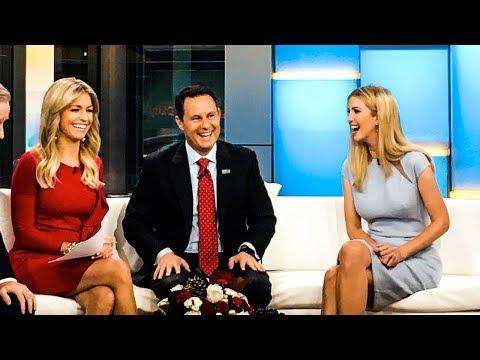 Ivanka Trump Transforms Into Dumbest Trump Child On Fox & Friends