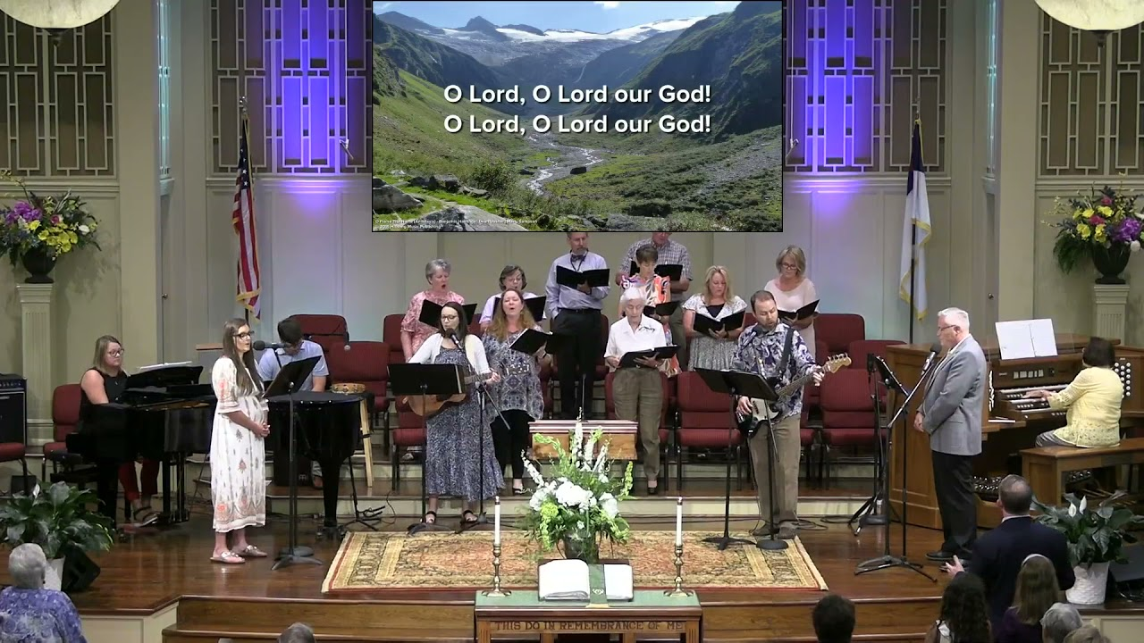 July 25, 2021 Service [Trimmed] at First Baptist Thomson, Streaming License 201531172