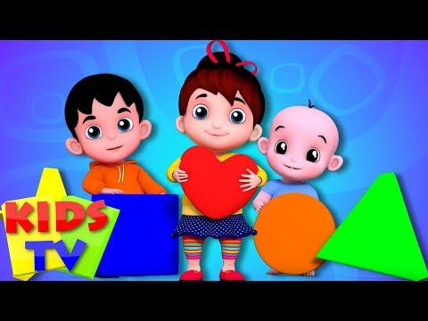 Junior Squad Kids Nursery Rhymes - Shapes Song Learn Shapes Kids Songs Baby Rhymes Jr.Squad S01EP11