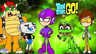 Teen Titans Go! Color Transform into Various Gaming Characters Animation Episode