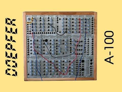 DOEPFER A-100 Analog Modular Synthesizer | HQ DEMO
