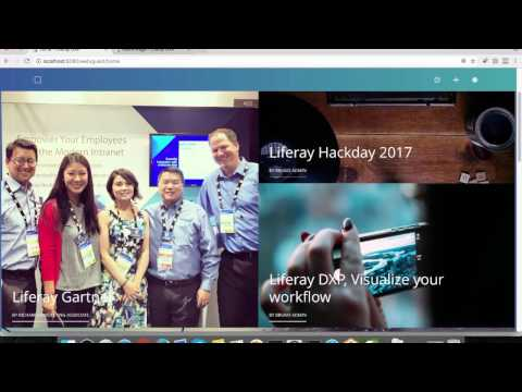 Video 3: Liferay DXP Content permission, Asset publisher, Search