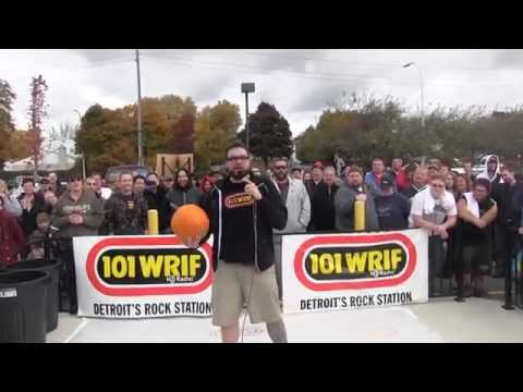 Pumpkin Smash with 101 WRIF and Tim Hortons