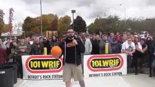 Pumpkin Smash with 101 WRIF and Tim Hortons