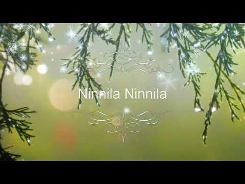 Ninnila ninnila official full video song Tholiprema  