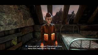 "We Happy Few -Act lll Decamped: Go To Canary House: Speak To Pie Burton ""I Do Owe You"" Chat (2018)"