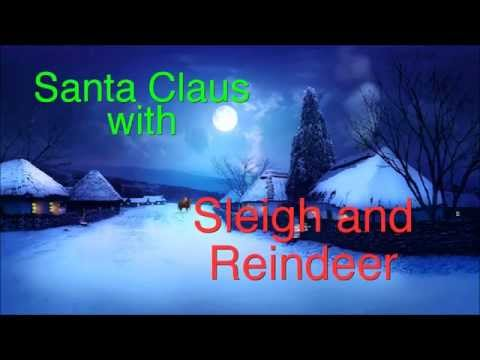 Santa with Sleigh and Reindeer DVD RV193