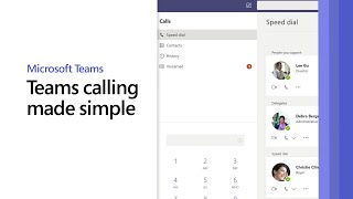 Microsoft Teams calling made simple