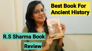 Rs sharma ancient history book review  Best book for Ancient history