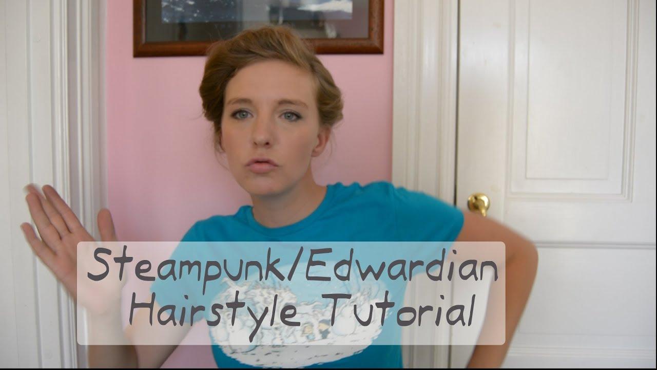 DIY Everyday Steampunk Edwardian Hairstyle
